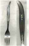 Twa Airlines Silver Plated Fork