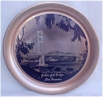 Golden Gate Bridge San Fracisco Tray