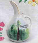 Redwood Highway California Painted Pitcher