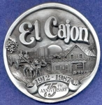 El Cajon California Limited Paper Weight
