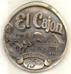 El Cajon California Limited Paperweight