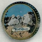 Mount Rushmore Souvenir Coaster.