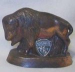 Wyoming Metal Buffalo Souvenir