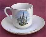 New Orleans Souvenir Demitasse Cup & Saucer