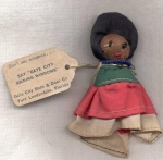 Vintage Advertising Souvenir Doll Florida