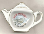 #2 Tea Bag Holder Souvenir Of New Mexico