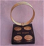 1979 Las Vegas Lucite Souvenir Letter Holder