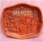 Vintage Las Vegas 3-d Asmco Plastic Tray
