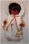 Leather And Fur Clad Eskimo Doll