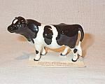 Hagen-renaker Miniature Holstein Bull 1986