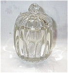 Depression National Glass Jar W/lid