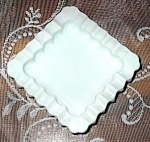 Westmoreland? Hobnail Milk Glass Ashtray