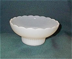 E O Brody Milk Glass Flower Bowl Or Vase