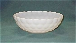 Anchor Hocking Milk Glass Bubble Serving Bowl