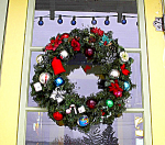 Christmas Wreath W/ Vintage Ornaments