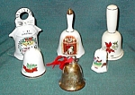 Christmas Bell Collection Set Of 6