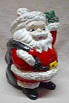 Chalkware Santa Christmas Decoration