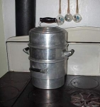 Large Cary Aluminum Steam Kettle-vapor Cooker