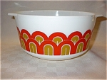 Pyrex Designs Retro Orange Mixing Bowl