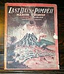1904 Last Days Of Pompeii Sheet Music