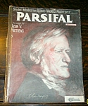 Parsifal Sheet Music By Richard Wagner