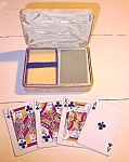 Vintage Retro Double Deck Playing Cards & Cas