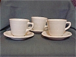 Wallace China Restaurantware Cup/saucer Sets
