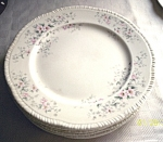 Vintage Homer Laughlin Floral Dinner Plates