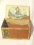 Vintage Decappo Cigar Box-the Gale-new York