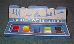 Vintage Water Color Paint Set