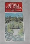 Vintage British Columbia Road Map