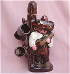 Mexican With Guitar Vintage Decanter & Mugs