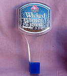 Pete's Wicked Winter Ale Lucite Beer Tap Handle