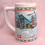 Miller Highlife Holiday Christmas Stein Mug