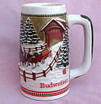 Budweiser Cs70 1984 Covered Bridge Stein