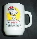 Anchor Hocking Snoopy Coffee Mug