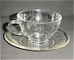 Fire King Sheaves Of Wheat Cup And Saucer