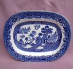 Buffalo Pottery Blue Willow Small Platter