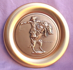1978 Bronce Buster Frederic Remington Plate