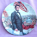 The Gettysburg Address 1986 Knowles Plate