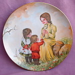 1976 Gloria Ranck Mother's Day Plate Spring Delight