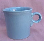 #1 Fiesta Homer Laughlin Blue Coffee Mug Cup