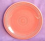 Fiesta Pottery Coral B&b Plate