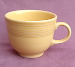 Fiesta Homer Laughlin Yellow Cup Mug