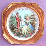 Courting Couple Homer Laughlin Plate