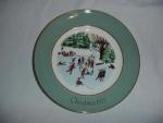 Avon 1975 Christmas Plate