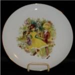 Otco Bavarian Boy & Girl Plate