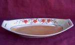 Vintage Japan Luster Ware Oval Bowl Dish