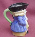 Small Toby Jug Pitcher Japan