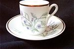 Ginori Primavera A.d. Flat Cup And Saucer #b
